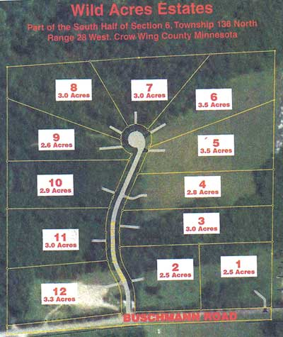 Wild Acres Estate Lots